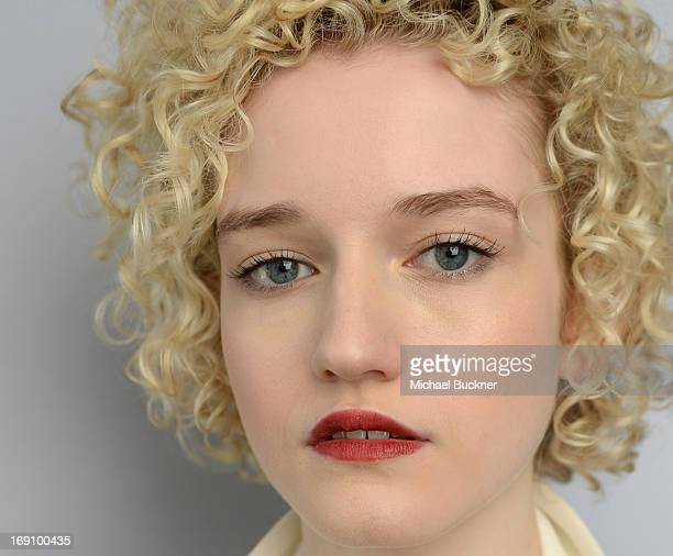 Actress Julia Garner of the film We Are What We Are poses for a portrait at the Variety Studio at Chivas House on May 20 2013 in Cannes France