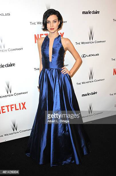 Actress Julia Goldani Telles arrives for the 2015 Weinstein Company And Netflix Golden Globes After Party held on January 11 2015 in Beverly Hills...