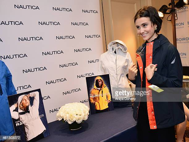 Actress Julia Goldani Telles attends the HBO Luxury Lounge featuring PANDORA Jewelry at Four Seasons Hotel Los Angeles at Beverly Hills on January 10...