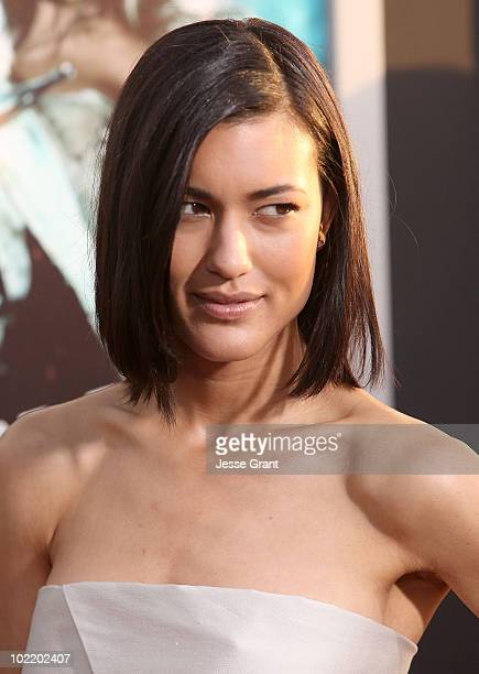 Actress Julia Jones arrives at the 'Jonah Hex' Los Angeles Premiere held at ArcLight Cinemas Cinerama Dome on June 17 2010 in Hollywood California