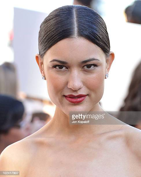 Actress Julia Jones arrives at the Los Angeles Premiere The Twilight Saga Eclipse at Regal 14 at LA Live Downtown on June 24 2010 in Los Angeles...