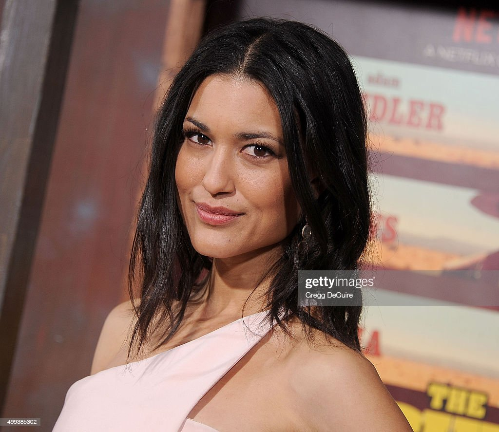 Actress Julia Jones arrives at the premiere of Netflix's 'The Ridiculous 6' at AMC Universal City Walk on November 30, 2015 in Universal City, California.