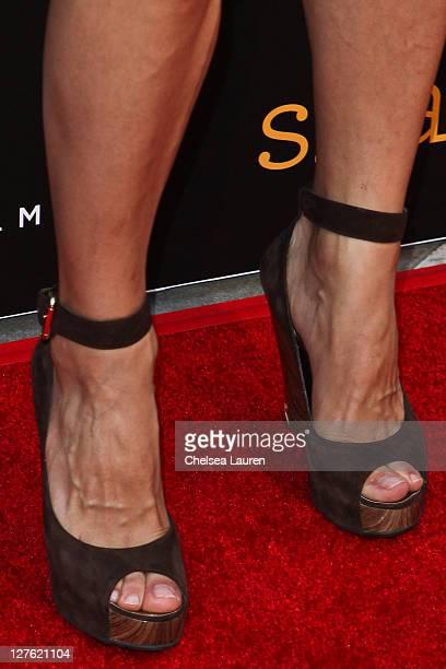 Actress Julia Jones arrives at the Skateland premiere at ArcLight Cinemas on May 11 2011 in Hollywood California