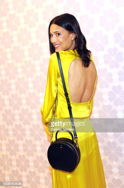 Actress Julia Jones attends Kate Spade New York Fashion Show during New York Fashion Week at New York Public Library on September 7 2018 in New York...