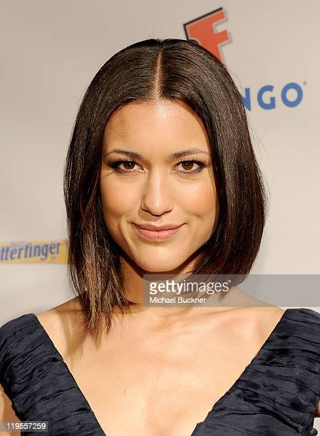 Actress Julia Jones attends Summit Entertainment ComicCon Party at the Hard Rock Hotel on July 21 2011 in San Diego California