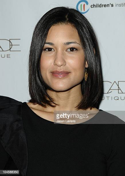 Actress Julia Jones attends the Autumn Party benefiting Children's Institute at The London Hotel on September 29 2010 in West Hollywood California
