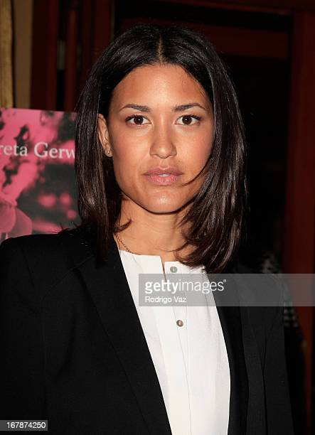 Actress Julia Jones attends the 'Frances Ha' Special Screening at the Vista Theatre on May 1 2013 in Los Angeles California