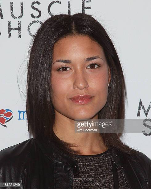 Actress Julia Jones attends the 'Muscle Shoals' New York Premiere at Landmark's Sunshine Cinema on September 19 2013 in New York City