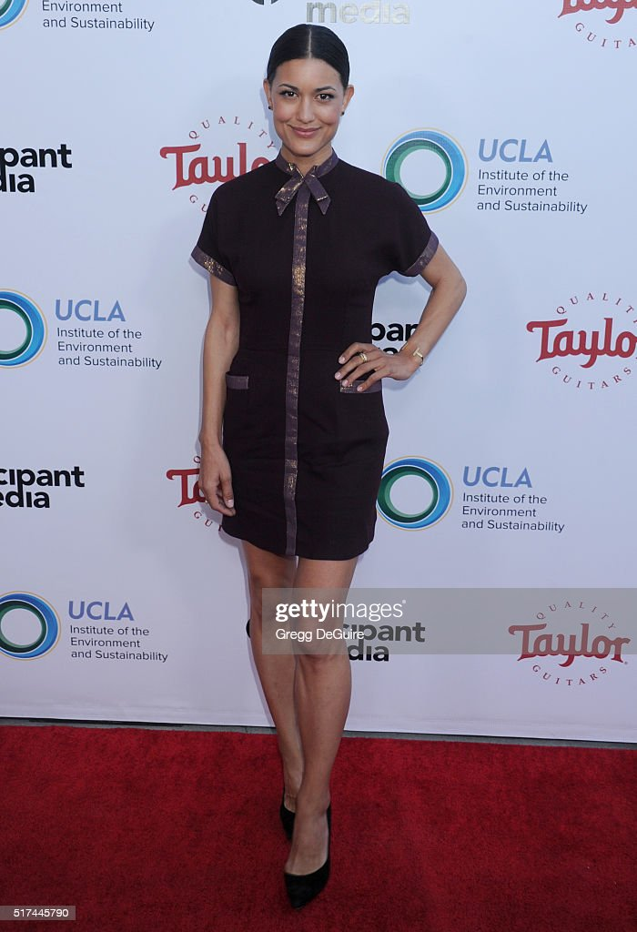 Actress Julia Jones attends UCLA Institute of the Environment and Sustainability celebration of the Champions Of Our Planet's Future on March 24, 2016 in Beverly Hills, California.