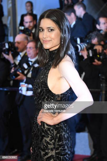Actress Julia Jones of 'Wind River' attends the 'The Square' screening during the 70th annual Cannes Film Festival at Palais des Festivals on May 20...