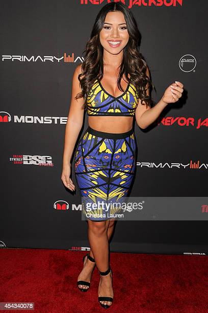 Actress Julia Kelly attends Trevor Jackson's Monster 18th Birthday Party at El Rey Theatre on August 28 2014 in Los Angeles California
