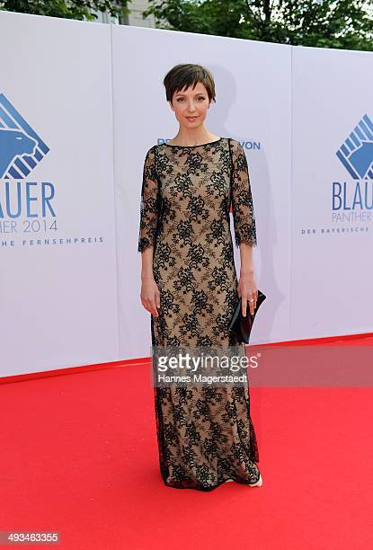 Actress Julia Koschitz attends the 'Bayerischer Fernsehpreis 2014' at Prinzregententheater on May 23 2014 in Munich Germany