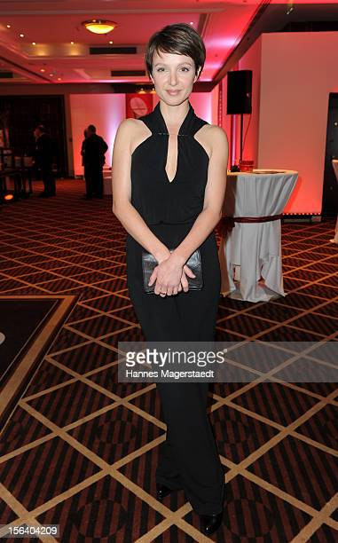 Actress Julia Koschitz attends the Video Entertainment Award 2012 at the Westin Grand Hotel on November 14 2012 in Munich Germany