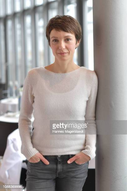 Actress Julia Koschitz during the BR Film Brunch at Literaturhaus on January 25 2019 in Munich Germany