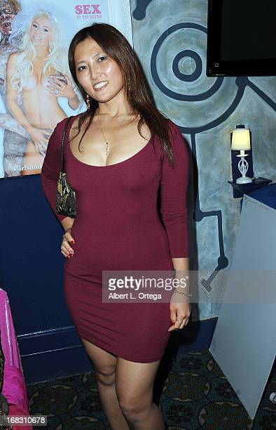 Actress Julia Lee attends The Girls and Corpses spring issue premiere party and hypnosis show held at Busby's on April 27 2013 in Los Angeles...