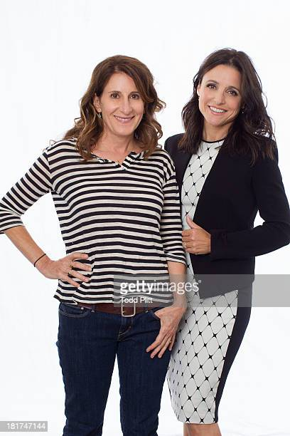 Actress Julia LouisDreyfus and director Nicole Holofcener are photographed for USA Today on September 15 2013 in New York City