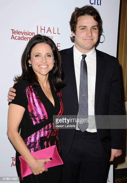 Actress Julia LouisDreyfus and son Henry Hall attend the Television Academy's 23rd Hall of Fame induction gala at Regent Beverly Wilshire Hotel on...
