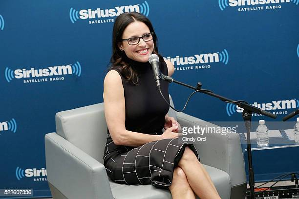 Actress Julia LouisDreyfus appears during the SiriusXM 'Town Hall' with Julia LouisDreyfus Town Hall to air on SiriusXM's Entertainment Weekly Radio...