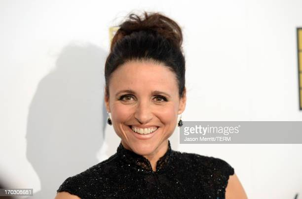 Actress Julia LouisDreyfus arrives at Broadcast Television Journalists Association's third annual Critics' Choice Television Awards at The Beverly...