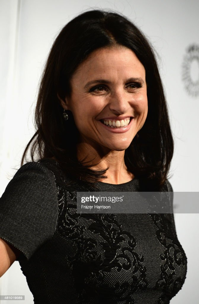 Actress Julia Louis-Dreyfus arrives at The Paley Center For Media's PaleyFest 2014 Honoring 'Veep' at Dolby Theatre on March 27, 2014 in Hollywood, California.