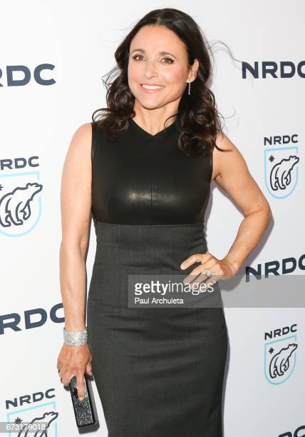 Actress Julia Louis-Dreyfus attend the Natural Resources Defense Council's STAND UP! for the Planet benefit at Wallis Annenberg Center for the...
