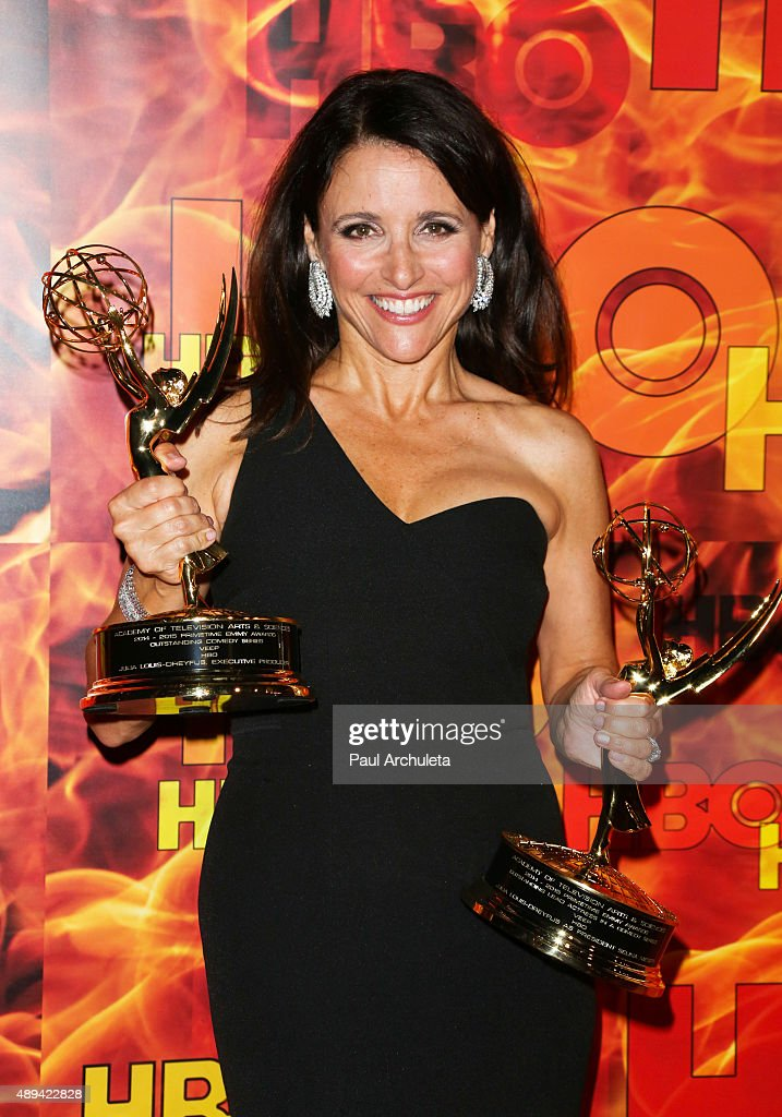 Actress Julia Louis-Dreyfus attends HBO's official 2015 Emmy After Party at The Plaza at the Pacific Design Center on September 20, 2015 in Los Angeles, California.