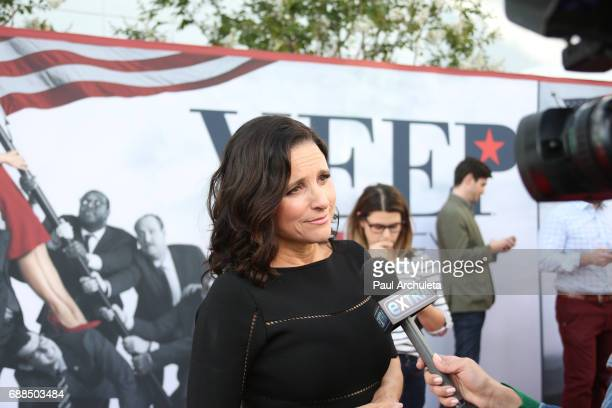 Actress Julia LouisDreyfus attends HBO's Veep FYC event at The Saban Media Center on May 25 2017 in North Hollywood California
