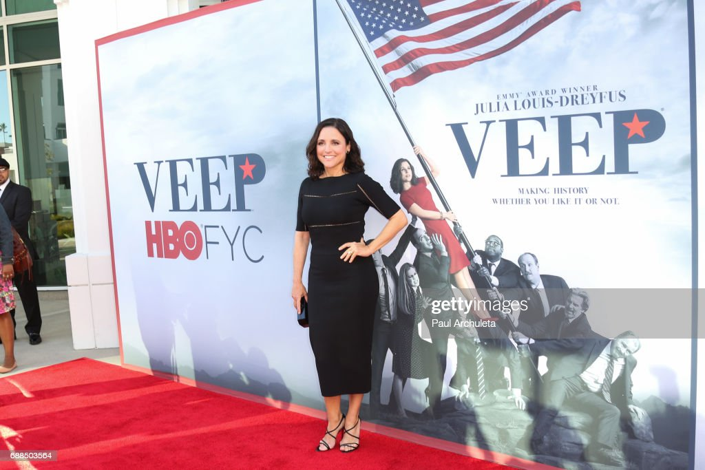 Actress Julia Louis-Dreyfus attends HBO's 'Veep' FYC event at The Saban Media Center on May 25, 2017 in North Hollywood, California.