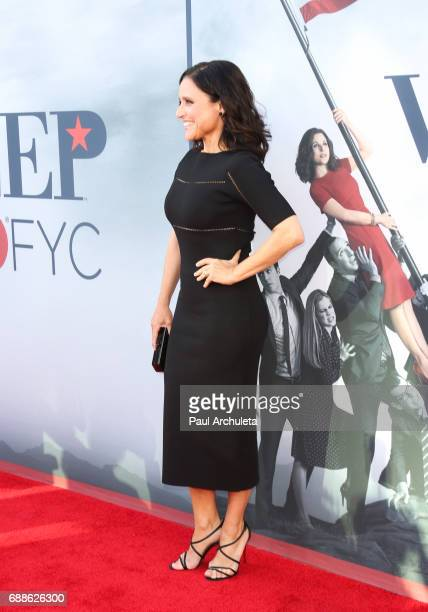 Actress Julia LouisDreyfus attends HBO's 'Veep' FYC event at The Saban Media Center on May 25 2017 in North Hollywood California