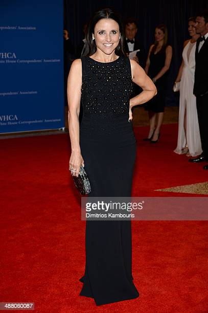 Actress Julia LouisDreyfus attends the 100th Annual White House Correspondents' Association Dinner at the Washington Hilton on May 3 2014 in...