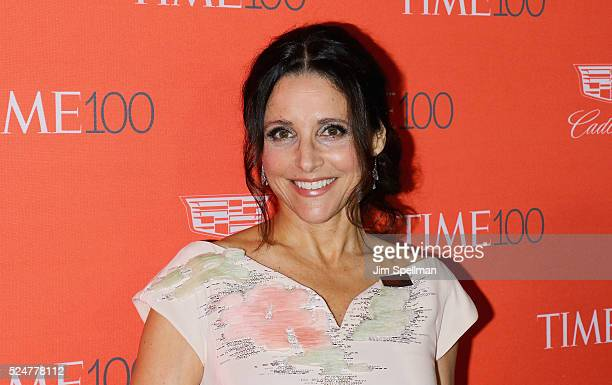 Actress Julia LouisDreyfus attends the 2016 Time 100 Gala at Frederick P Rose Hall Jazz at Lincoln Center on April 26 2016 in New York City