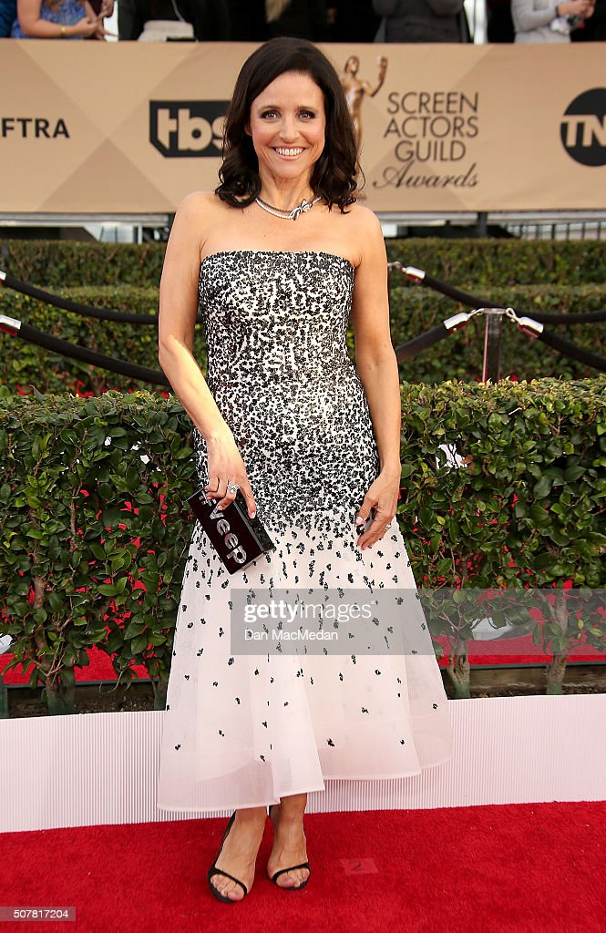 Actress Julia Louis-Dreyfus attends the 22nd Annual Screen Actors Guild Awards at The Shrine Auditorium on January 30, 2016 in Los Angeles, California.
