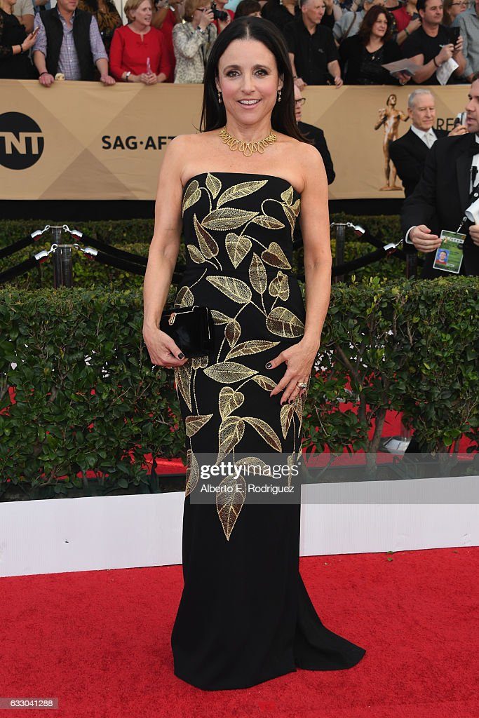 Actress Julia Louis-Dreyfus attends the 23rd Annual Screen Actors Guild Awards at The Shrine Expo Hall on January 29, 2017 in Los Angeles, California.