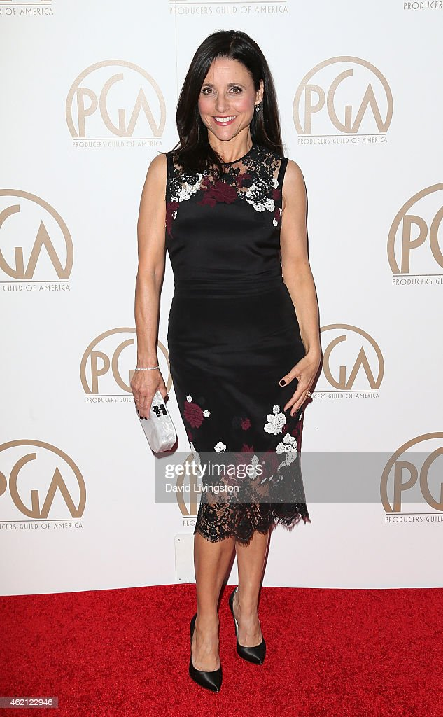 Actress Julia Louis-Dreyfus attends the 26th Annual Producers Guild of America Awards at the Hyatt Regency Century Plaza on January 24, 2015 in Los Angeles, California.