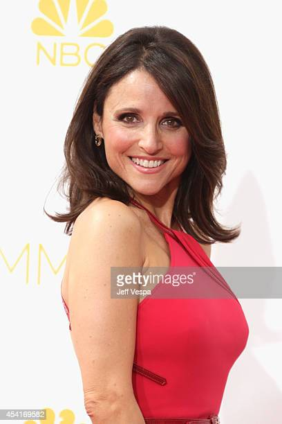 Actress Julia Louis-Dreyfus attends the 66th Annual Primetime Emmy Awards held at Nokia Theatre L.A. Live on August 25, 2014 in Los Angeles,...