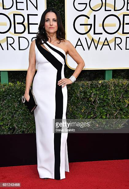 Actress Julia LouisDreyfus attends the 74th Annual Golden Globe Awards at The Beverly Hilton Hotel on January 8 2017 in Beverly Hills California