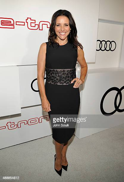 Actress Julia LouisDreyfus attends the Audi Celebrates Emmys Week 2015 at Cecconi's Restaurant on September 17 2015 in Los Angeles California