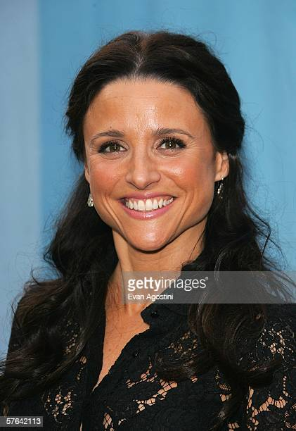 Actress Julia LouisDreyfus attends the CBS Upfront Presentation at Tavern On The Green May 17 2006 in New York City