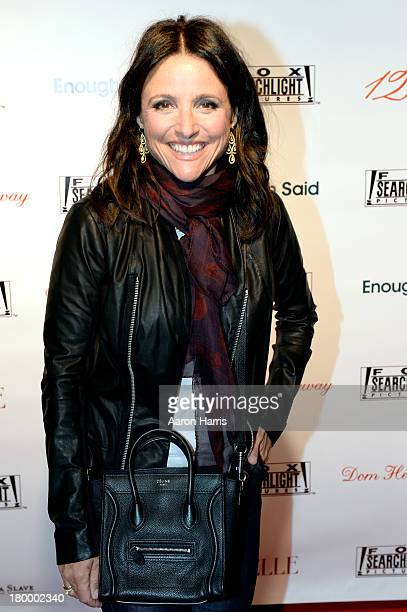 Actress Julia LouisDreyfus attends the Fox Searchlight TIFF party during the 2013 Toronto International Film Festival at Spice Route on September 7...