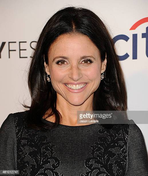 Actress Julia LouisDreyfus attends the 'Veep' event at the 2014 PaleyFest at Dolby Theatre on March 27 2014 in Hollywood California