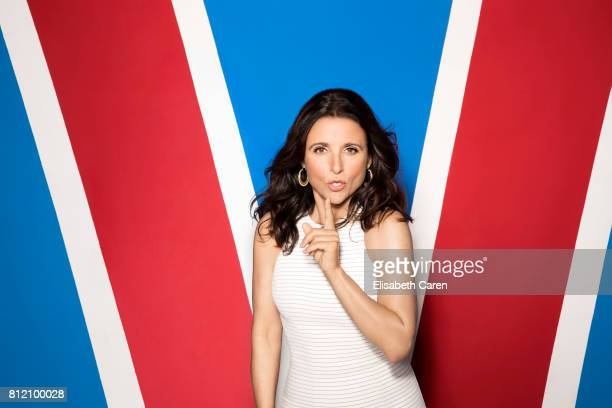 Actress Julia LouisDreyfus from HBO's 'Veep' is photographed for The Wrap on April 25 2017 in Los Angeles California