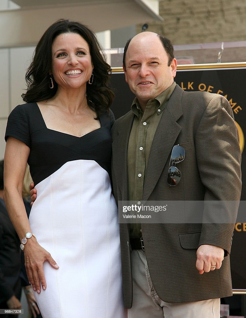 Julia Louis-Dreyfus Honored On The Hollywood Walk Of Fame : News Photo