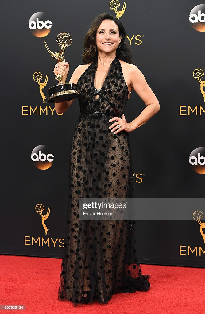 68th Annual Primetime Emmy Awards - Press Room : Foto jornalística