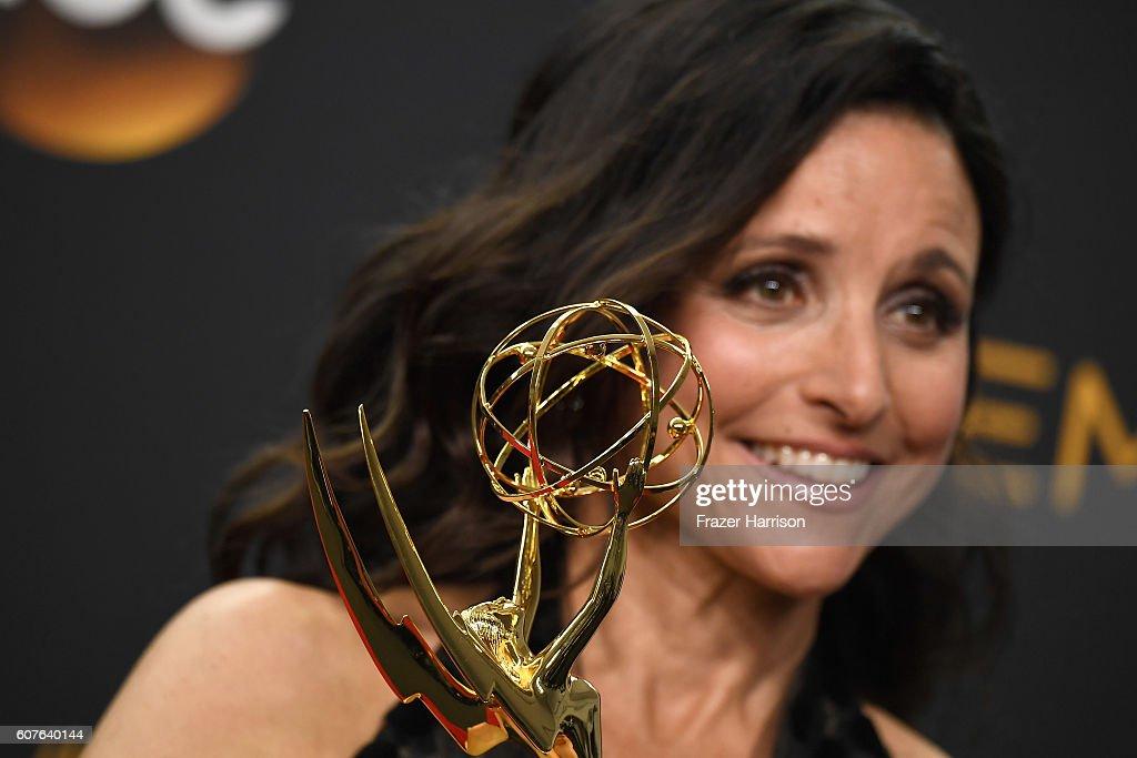 68th Annual Primetime Emmy Awards - Press Room : News Photo