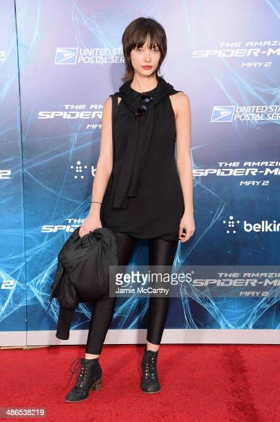 Actress Julia Morrison attends 'The Amazing SpiderMan 2' premiere at the Ziegfeld Theater on April 24 2014 in New York City