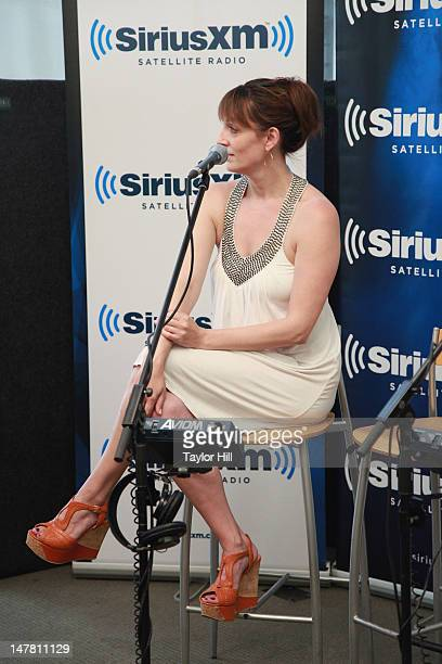 Actress Julia Murney visits Seth Rudetsky's Seth Speaks at SiriusXM Studios on July 2 2012 in New York City