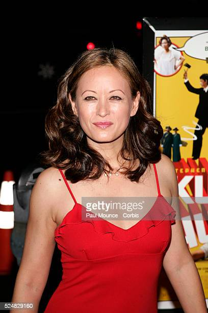 Actress Julia Nickson arrives at the Los Angeles premiere of the Sony Pictures Classics' Kung Fu Hustle