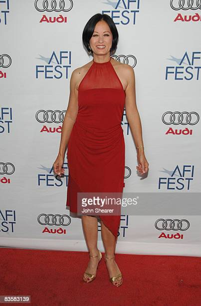 Actress Julia Nickson arrives to the 2008 AFI Film Festival Tribute to Tilda Swinton at Club Sushi at the Arclight on November 5 2008 in Los Angeles...