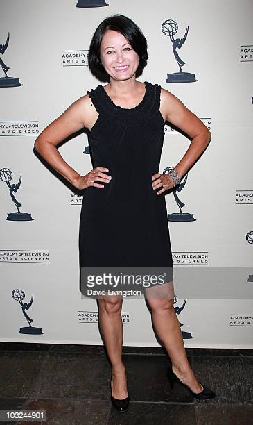 Actress Julia Nickson attends the Academy of Television Arts Sciences' Performers Peer Group Emmy reception at Chakra on August 4 2010 in Beverly...