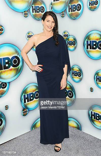 Actress Julia Ormond arrives at HBO's Post 2012 Golden Globe Awards Party at Circa 55 Restaurant on January 15 2012 in Beverly Hills California